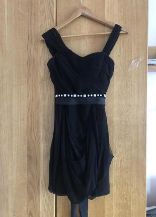Плаття платье vera wang оригінал сша шифон р xs 34