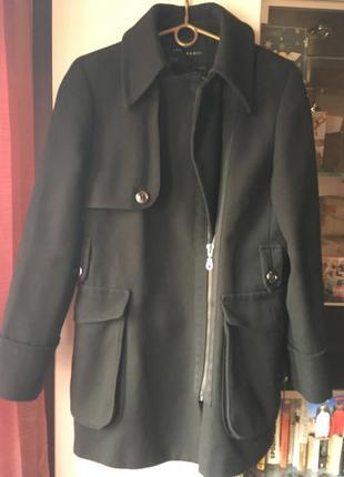 Стильное пальто zara basic
