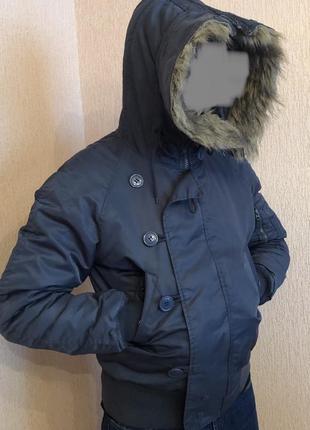 Зимняя куртка mil-tec льотная аляска