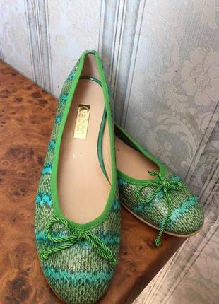 Фирменные туфли,балетки натуральная кожа