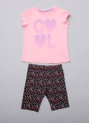 Костюм летний футболка топ шорты капри леггинсы  pepco