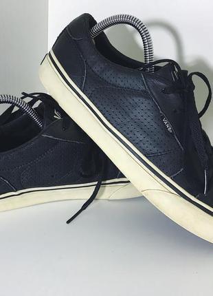 Мужские кожаные кеды vans ( ванс 41рр 26,5см )