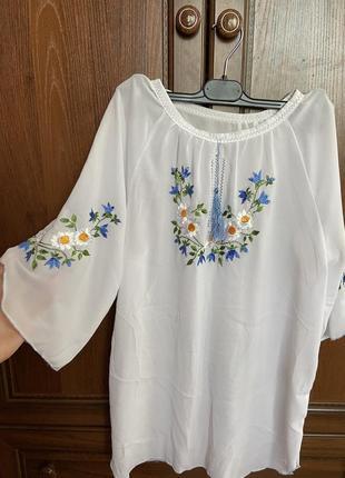 Вишита сорочка блузка  вишиванка