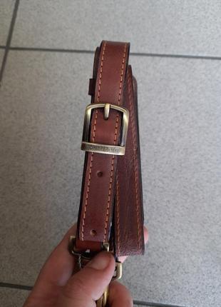 Кожаный ремешок на плечо для сумки