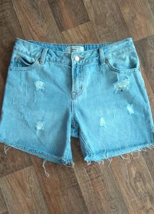 Шорты джинсовые мом