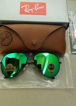 Солнцезащитные очки ray ban авиатор