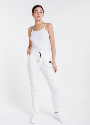 Женские спортивные штаны из трикотажа с принтом мики маус