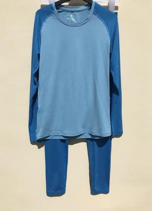 Костюм голубой термокостюм shamp термо белье костюм