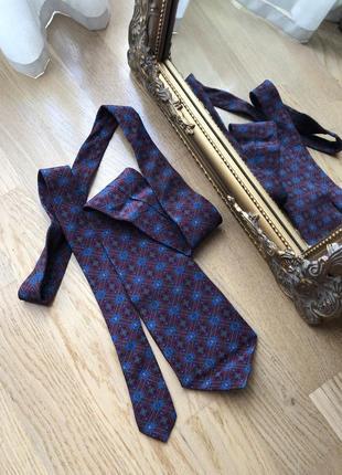 Шовковий галстук made in england