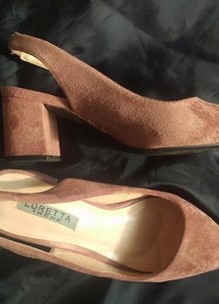🌺замшевые туфельки 🌺
