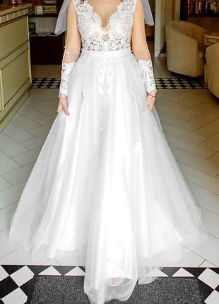Свадебное платье идеал индивидуальный пошив swarovski