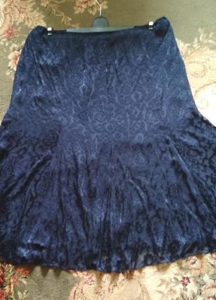 Шикарная шифоновая юбка большого размера.