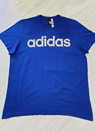 Футболка хлопок adidas