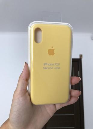 Silicon case чехол на айфон x,xs,10