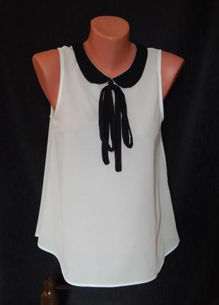 Блуза* майка нарядная от tally weijl (размер 36)