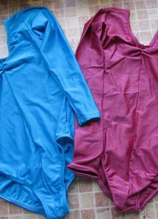 Купальник гимнастический для девочки два цвета и 2 размера