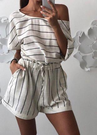Комбинезон летний с шортами