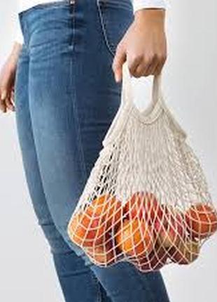 Ikea- сетчатая сумка,авоська