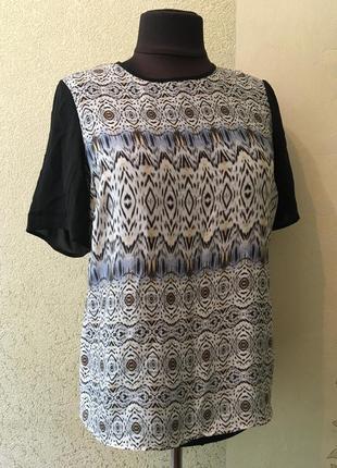 Легкая комфортная женская футболка/летняя футболочка/блуза