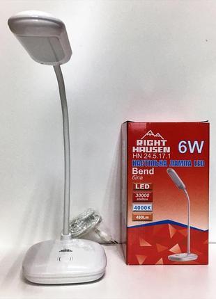 Новая настольная лампа, светильник led