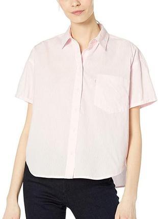Рубашка блузка oversize levis размер s хлопок
