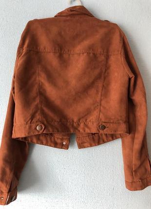 Укороченный жакет-курточка