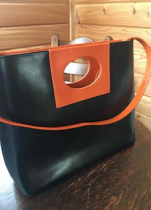 Daniela moda-стильная кожаная сумка