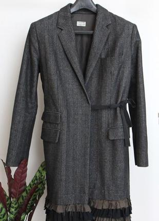 Philosophy di alberta ferretti дизайнерское пальто на запах