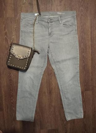 ❤️❤️❤️серые джинсы gap оригинал скинни мом