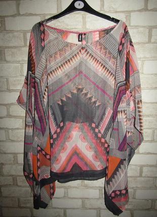 Легкая красивая блуза р-р 14-16 бренд eksept