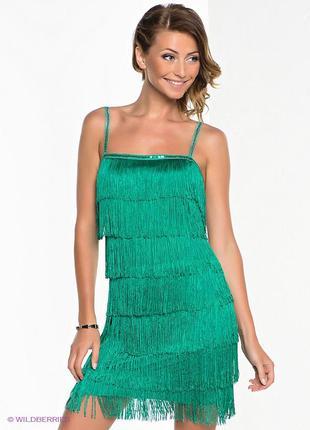 Платье с бахромой в стиле 20-30-х , р м