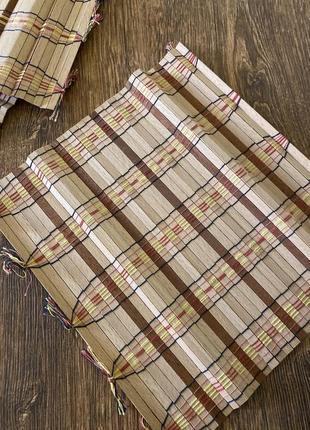 Комплект  ковриков для стола еко