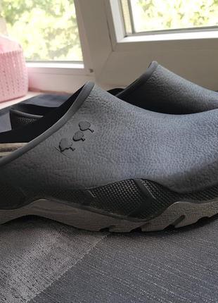 Летняя обувь шлепанцы по типу crocs галоши обувь для дачи 45 46 размер