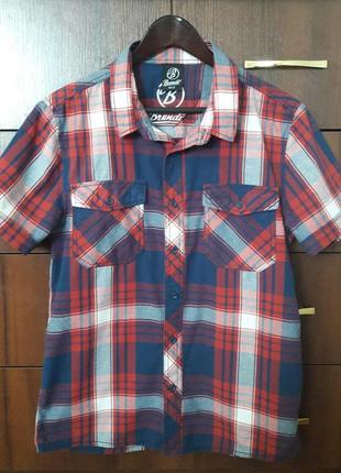 Рубашка на короткий рукав brandit, размер s