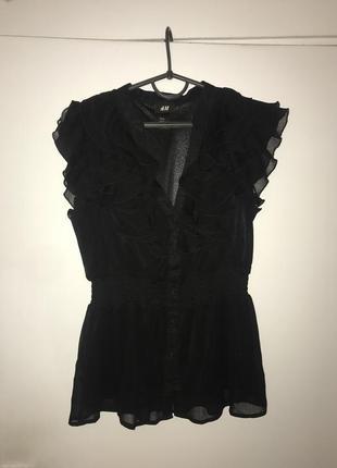 Потрясающая блуза h&m