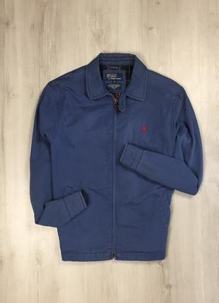 F9 харик ralph lauren ветровка куртка ральф лорен синяя парка бомбер