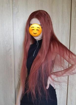 Парик из натуральных волос 80см