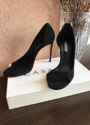 Чёрные туфли1 фото