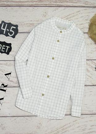 Zara boys have хлопковая рубашка