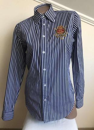 Polo ralph lauren новая рубашка ralph lauren, размер 8
