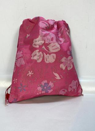 Рюкзак для девочки на стяжку