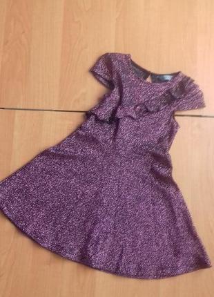 Нарядное платье для девочки 4-5 лет.
