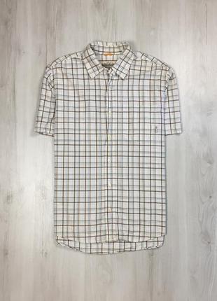 Z6 шведка timberland клетчатая рубашка мужская в клетку