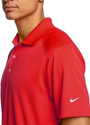 Nike dri-fit мужская футболка поло р.l