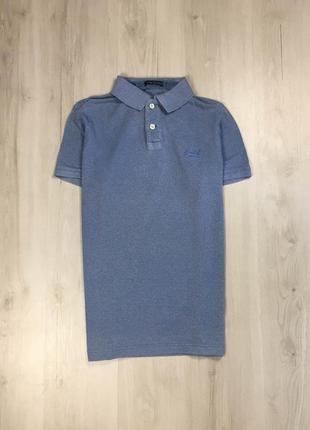 Z8 тенниска superdry футболка синяя супердрю голубая супердрю поло polo