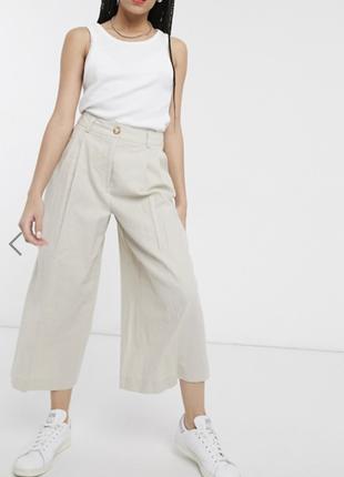 Кюлоты clean linen culottes