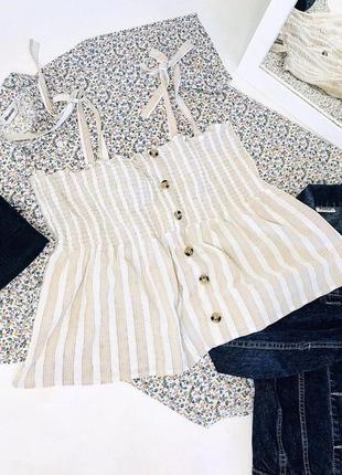 Хлопковая блуза от primark  блузка блуза майка 