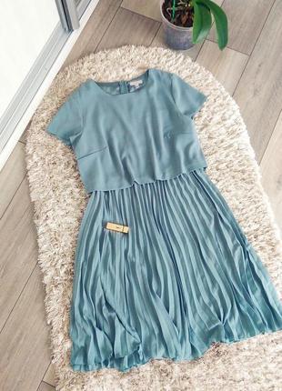 Платье юбка плиссе