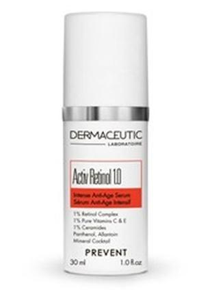 Интенсивная сыворотка для возрастной кожи dermaceutic activ retinol 1.0