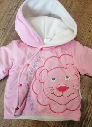 Курточка для девочки zeze